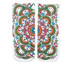 Crayola Color In Socks Mandala Pattern