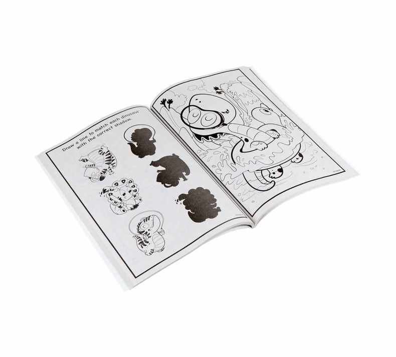 Prehistoric Pals Dinosaur Coloring Book