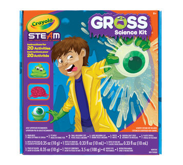 STEAM Gross Science Kit Front View of Box