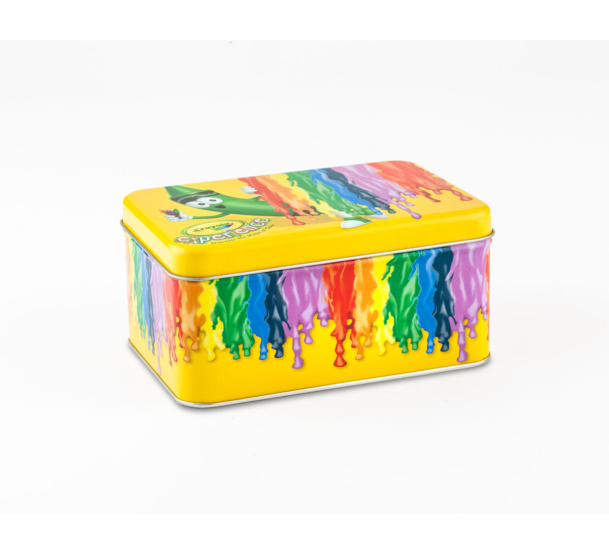 Crayola Dripping Wax Crayon Storage Tin