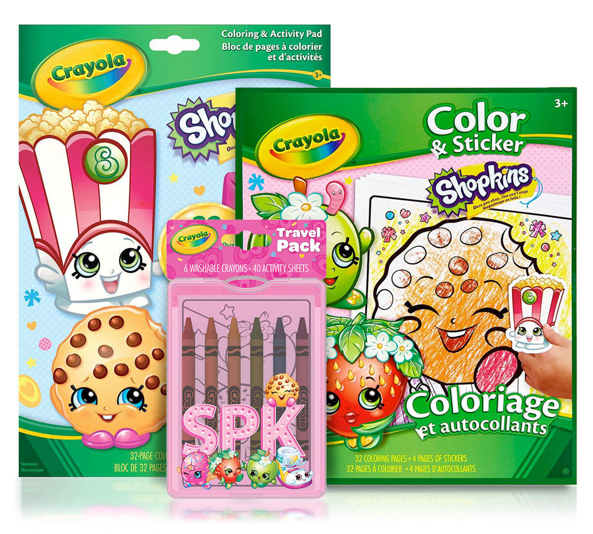 Shopkins Coloring Pages, Stickers & Activities