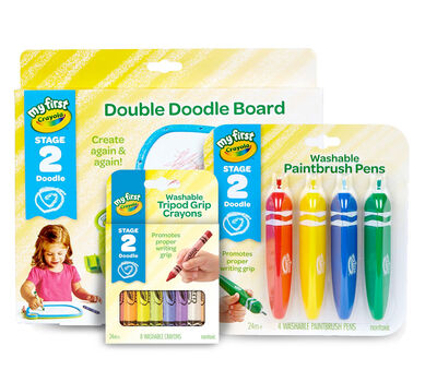 My First Crayola Art Set - Gift for 2 Year Olds