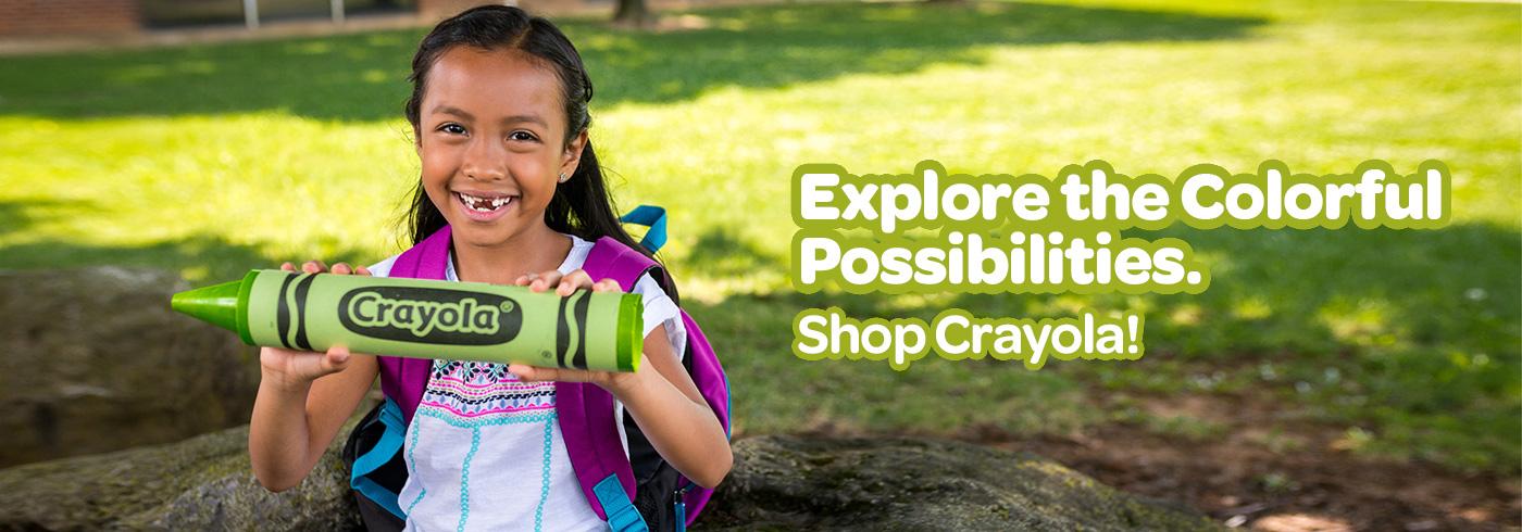 Explore the Colorful Possibilities. Shop Crayola