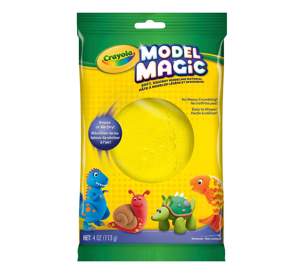 Model Magic Clay Alternative 4 Oz Pack Crayola Com