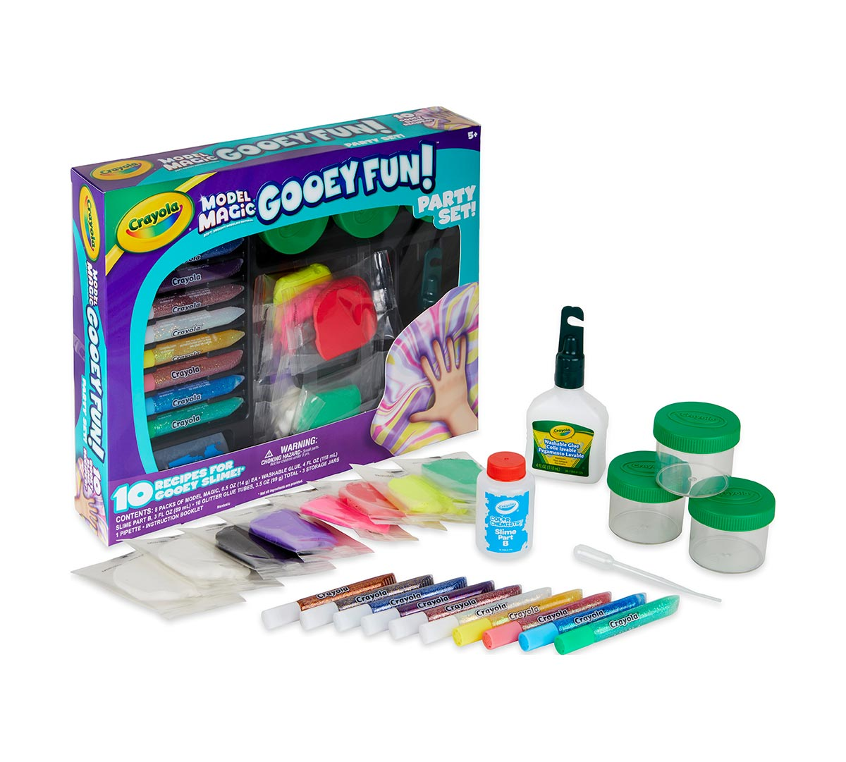 Model Magic Gooey Fun Party Set