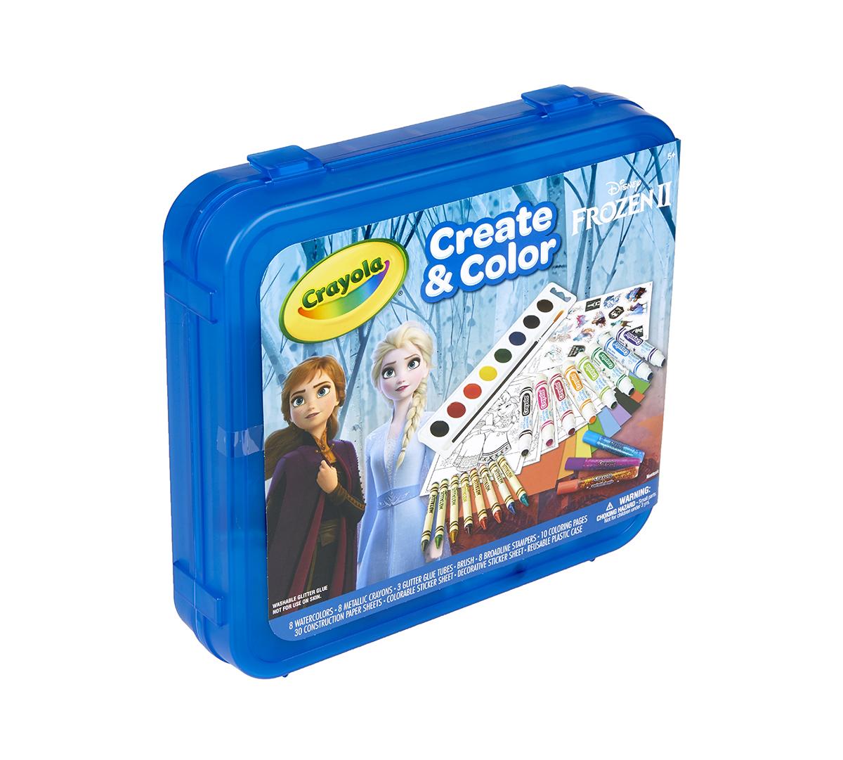Frozen 2 Create & Color Art Set