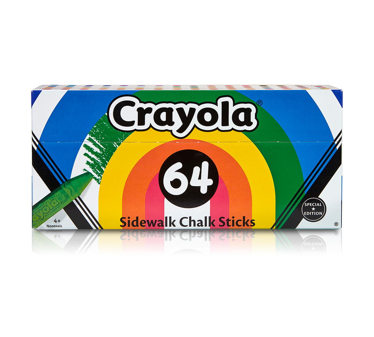 64 ct. Sidewalk Chalk Collection Poptimism