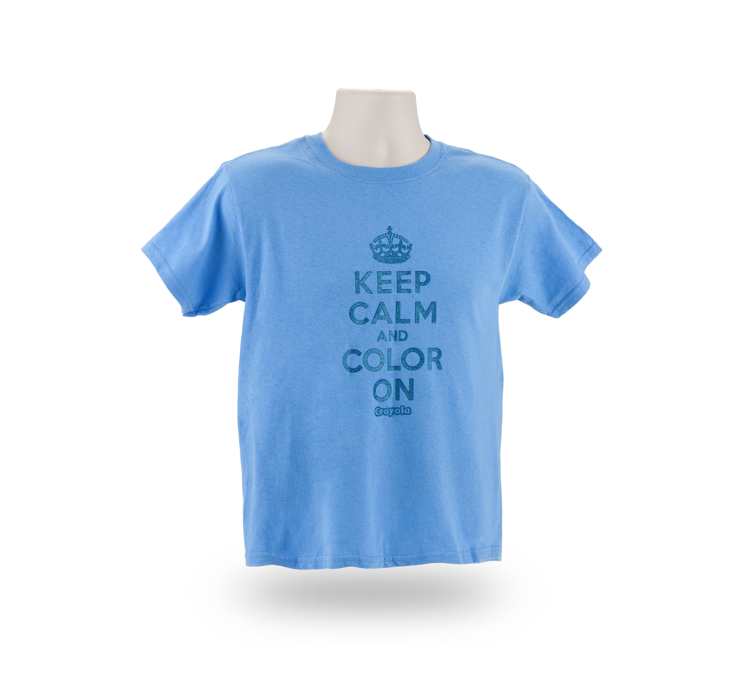 Crayola Youth Keep Calm And Color On T Shirt Crayola