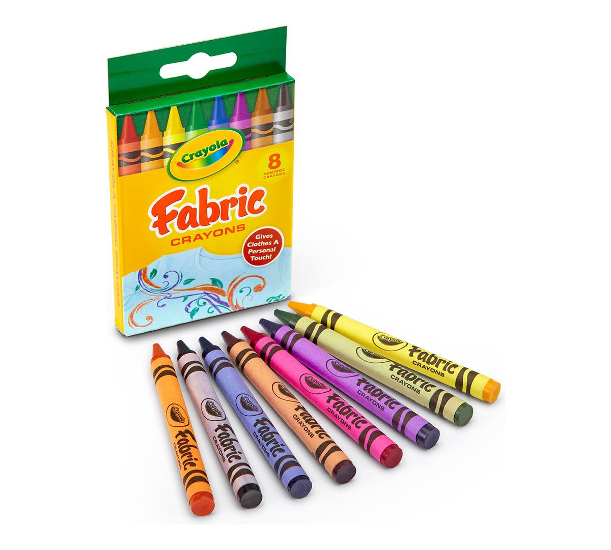Fabric Crayons 8 ct. | Crayola