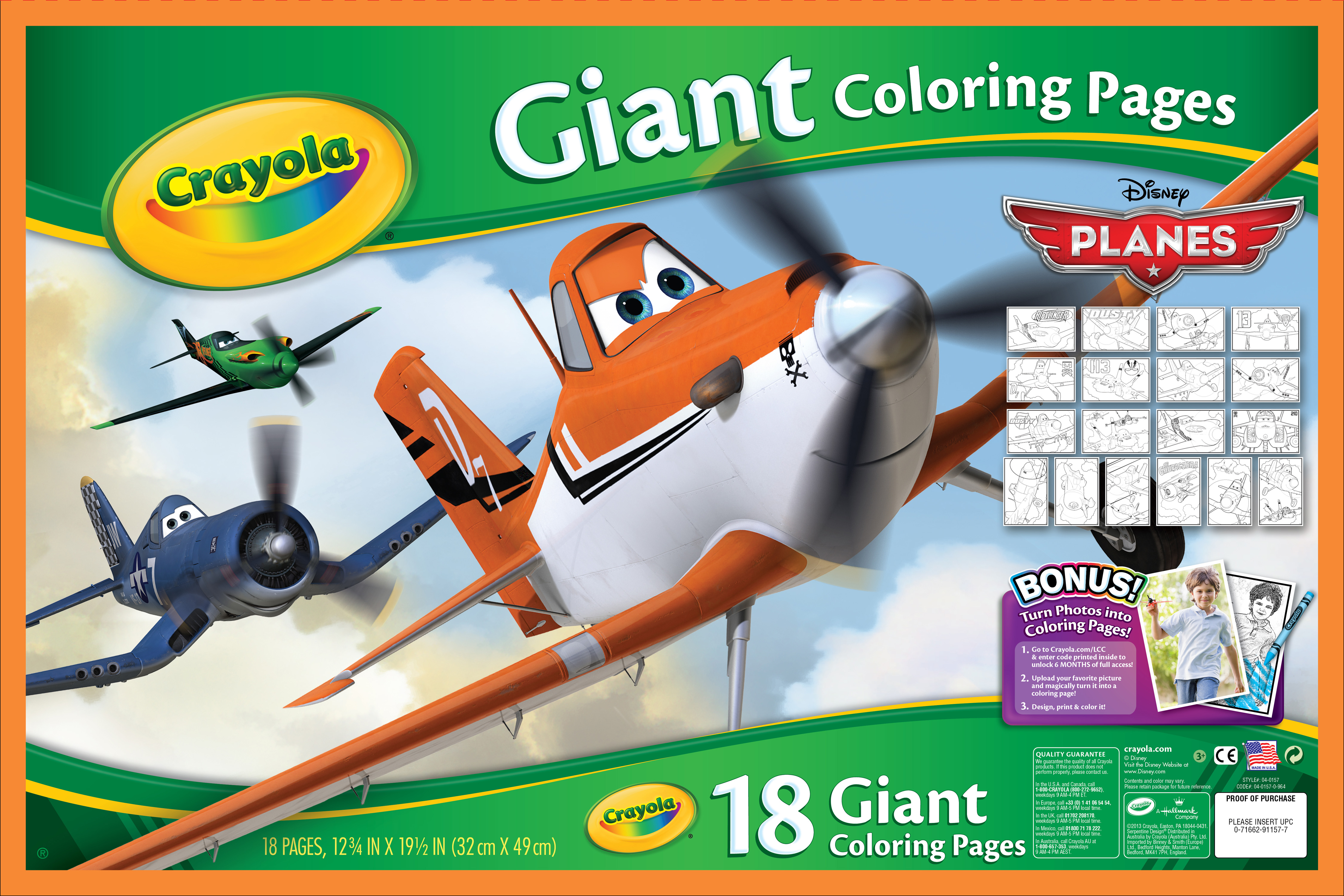 Giant Coloring Pages Case | Crayola