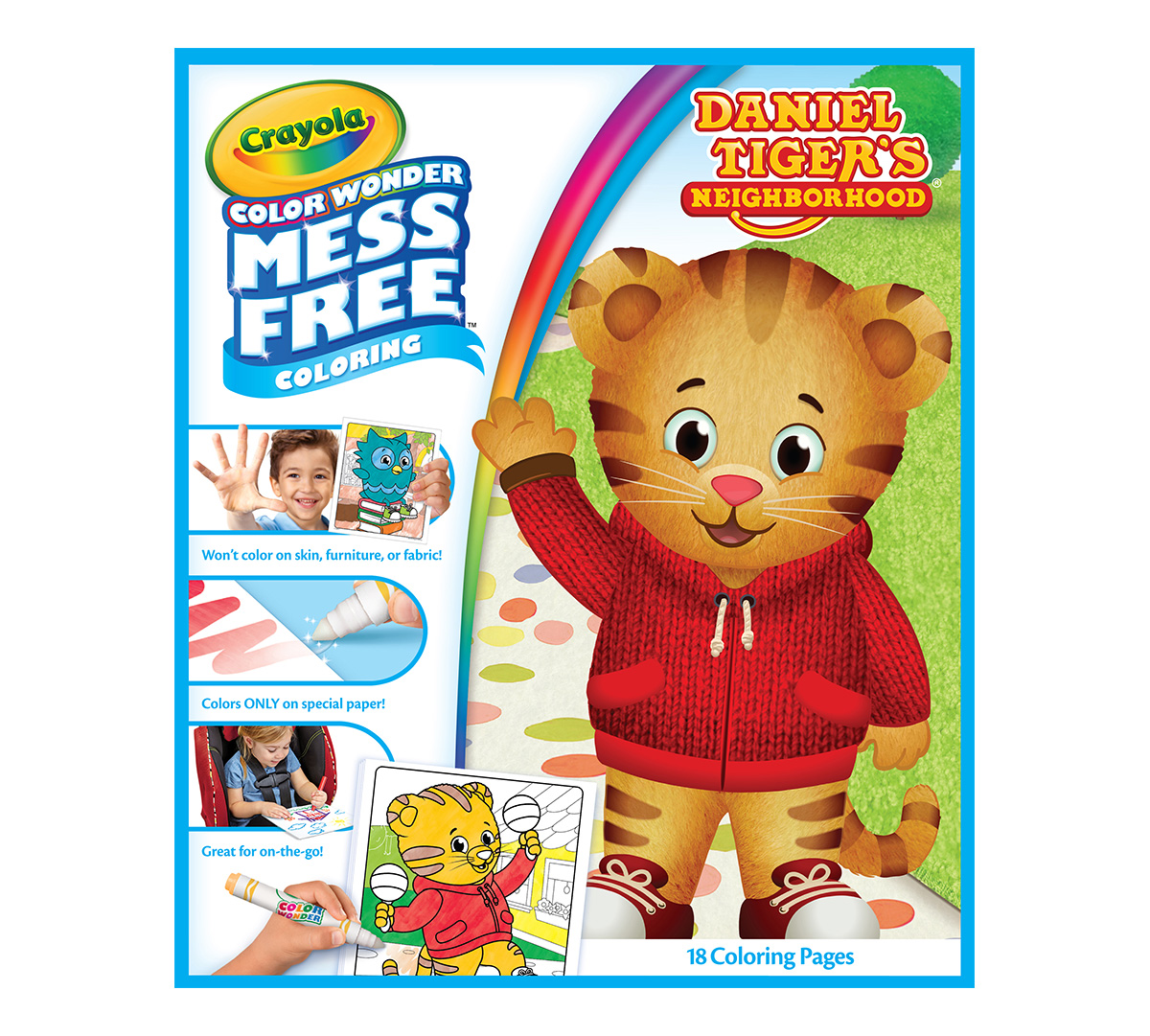 Daniel Tiger Coloring And Activity Book Set With Stickers And Crayons Tv Movie Character Toys