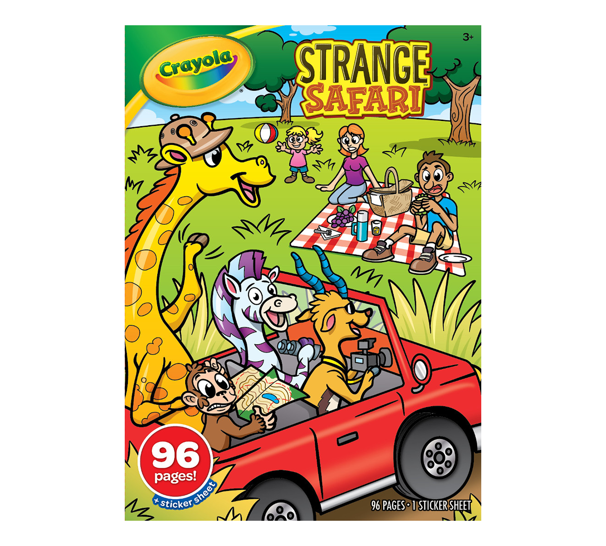 Strange Safari Coloring Book