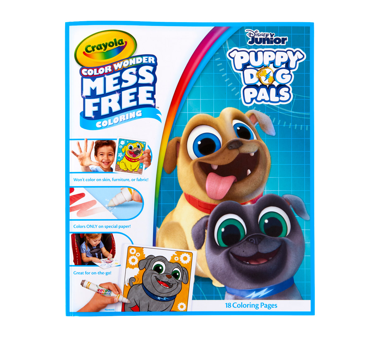 Color Wonder Mess Free Puppy Dog Pals Book Crayola Com