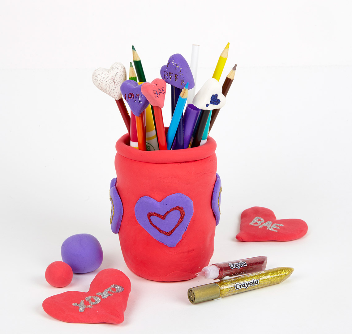 Heart Pencil Toppers Valentine