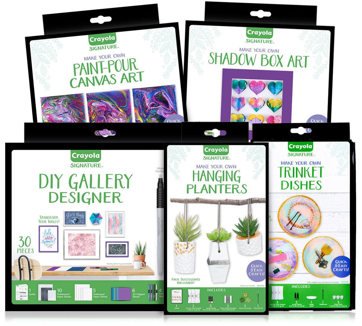 Signature Adult Craft Kit Gift Set, You Pick   Crayola.com   Crayola