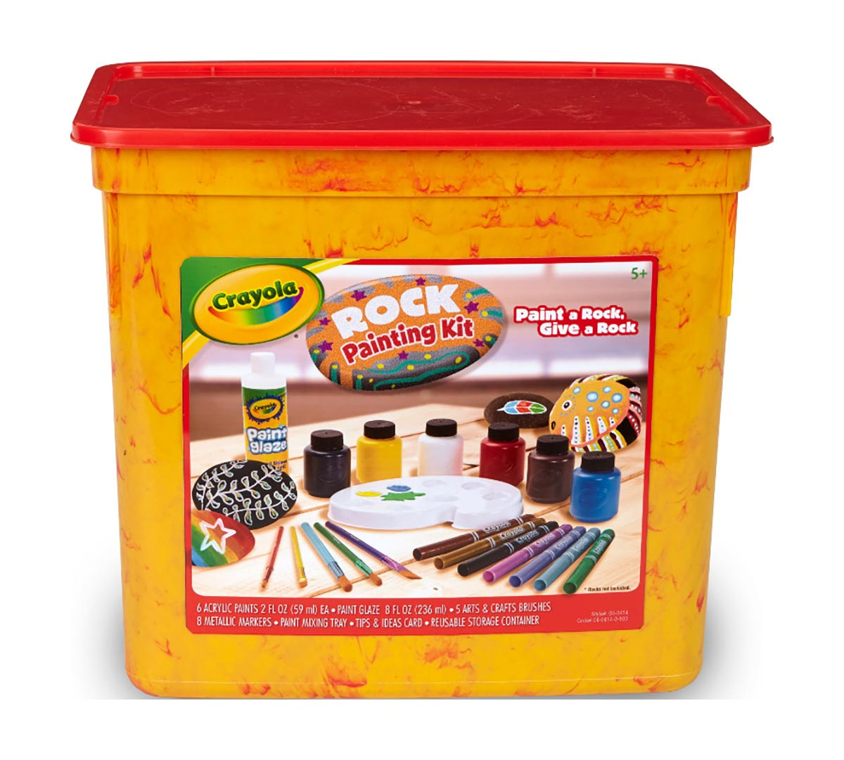Crayola Rock Painting Set