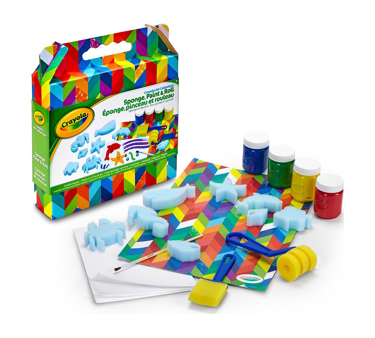 Sponge, Paint & Roll