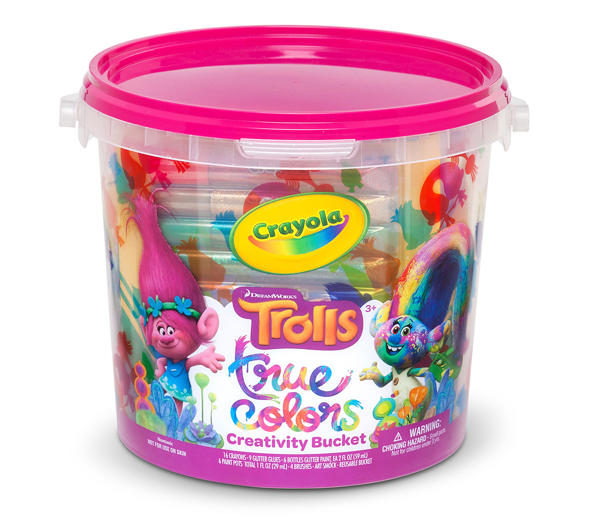 Trolls True Colors Creativity Bucket