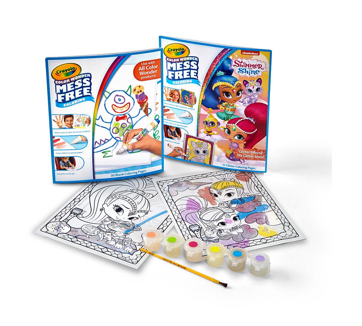 Crayola Mess-Free Color Wonder; Variety Bundle; Posters, Coloring ...