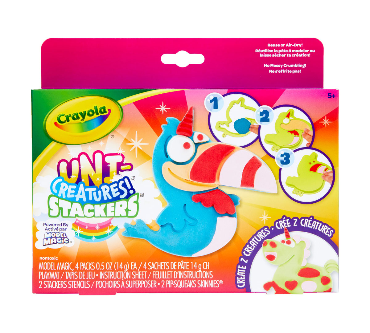 Model Magic Uni-Creatures Stackers Craft Kit