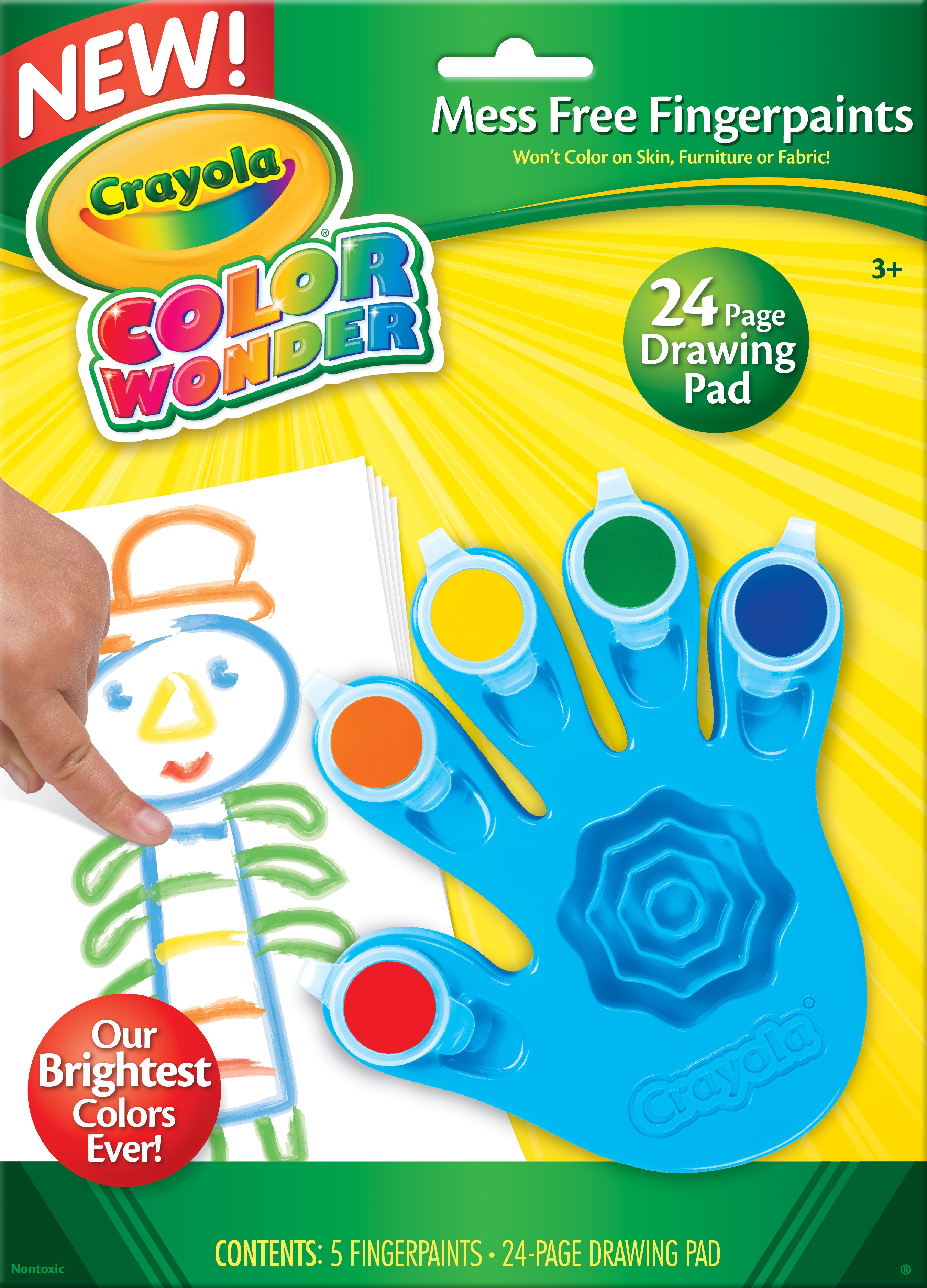 Color Wonder Fingerpaints Crayola