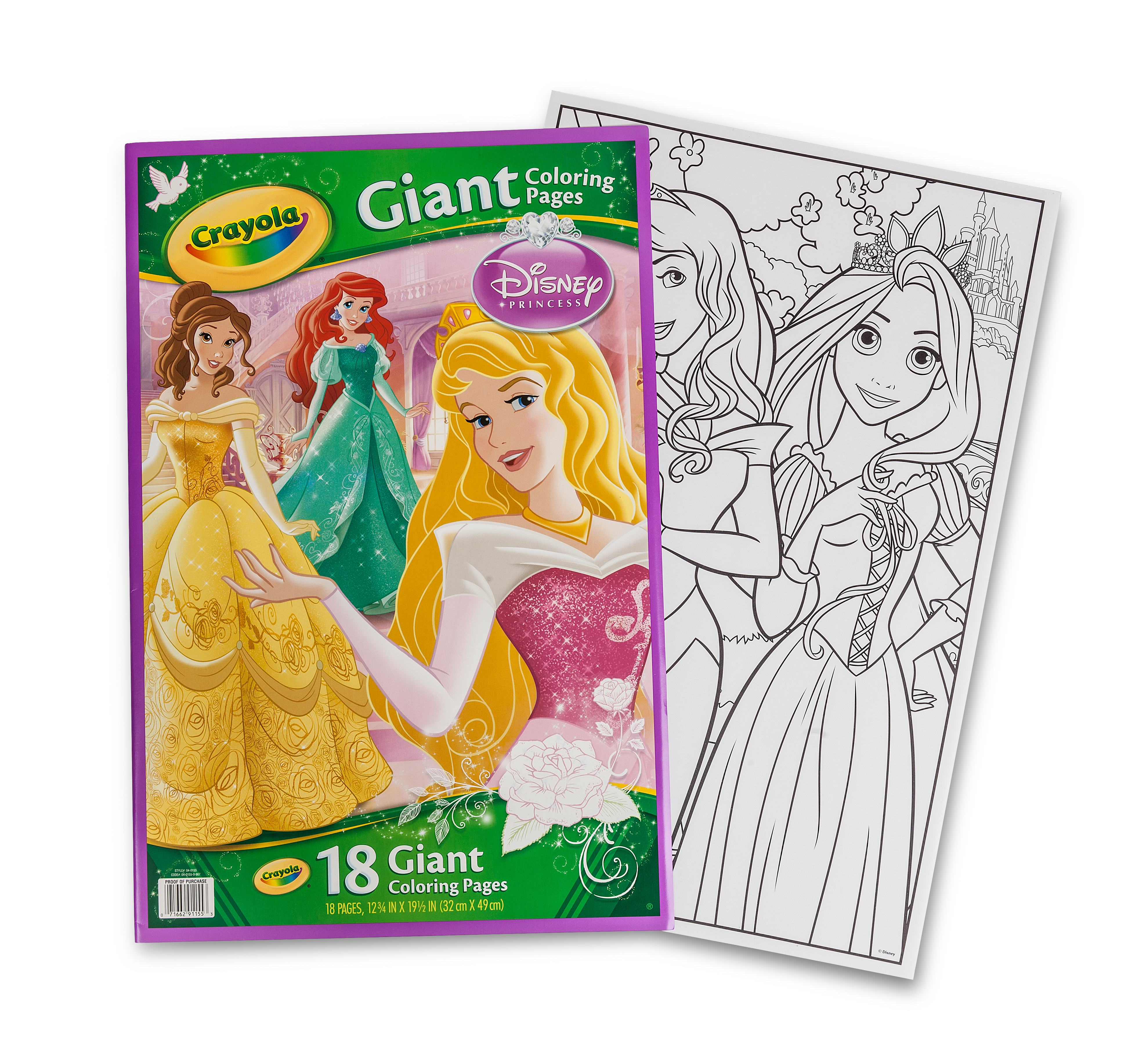 Giant Coloring Pages Disney Princess