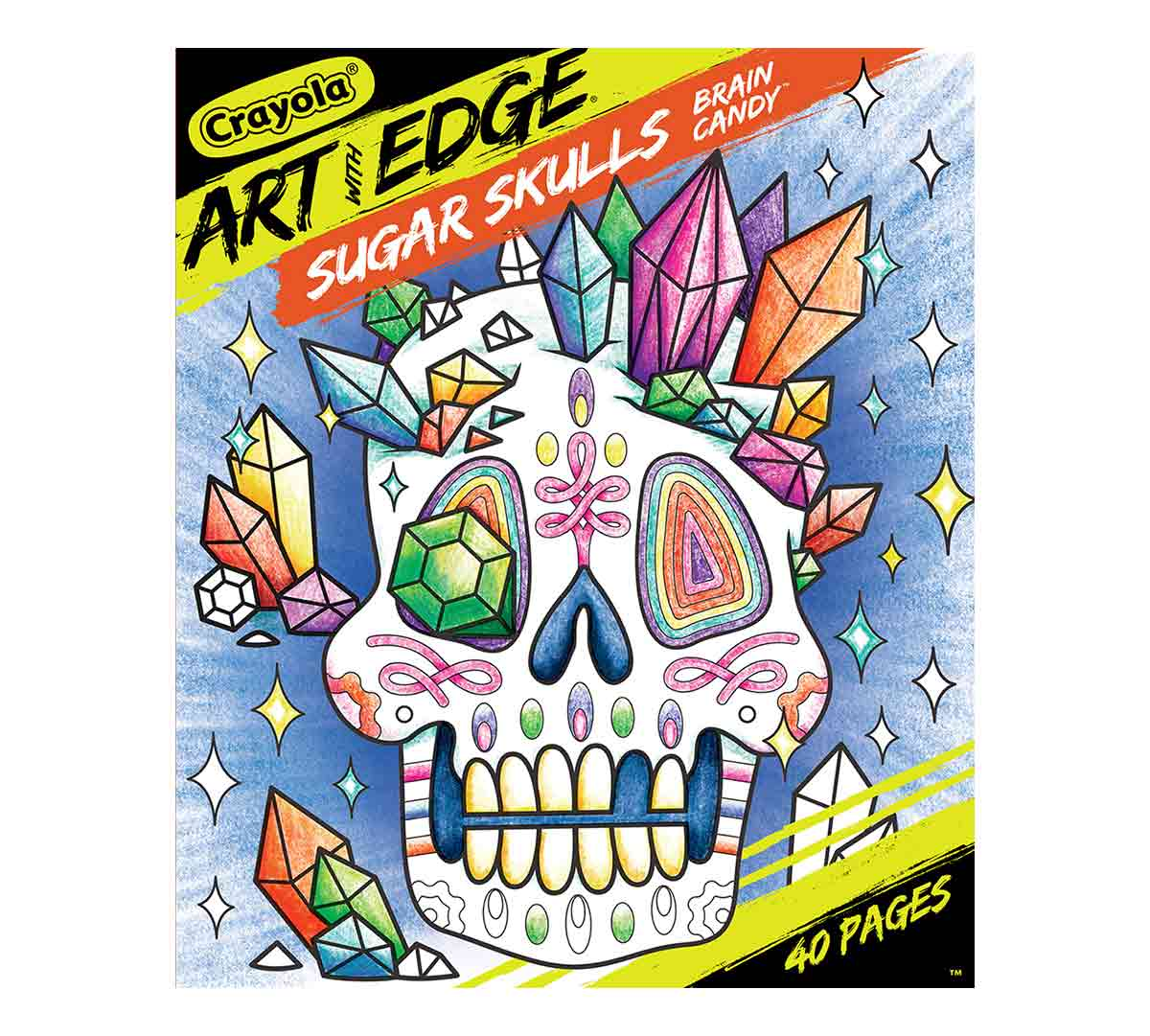Sugar Skulls Coloring Book For Adults Volume 3 Crayola Com Crayola