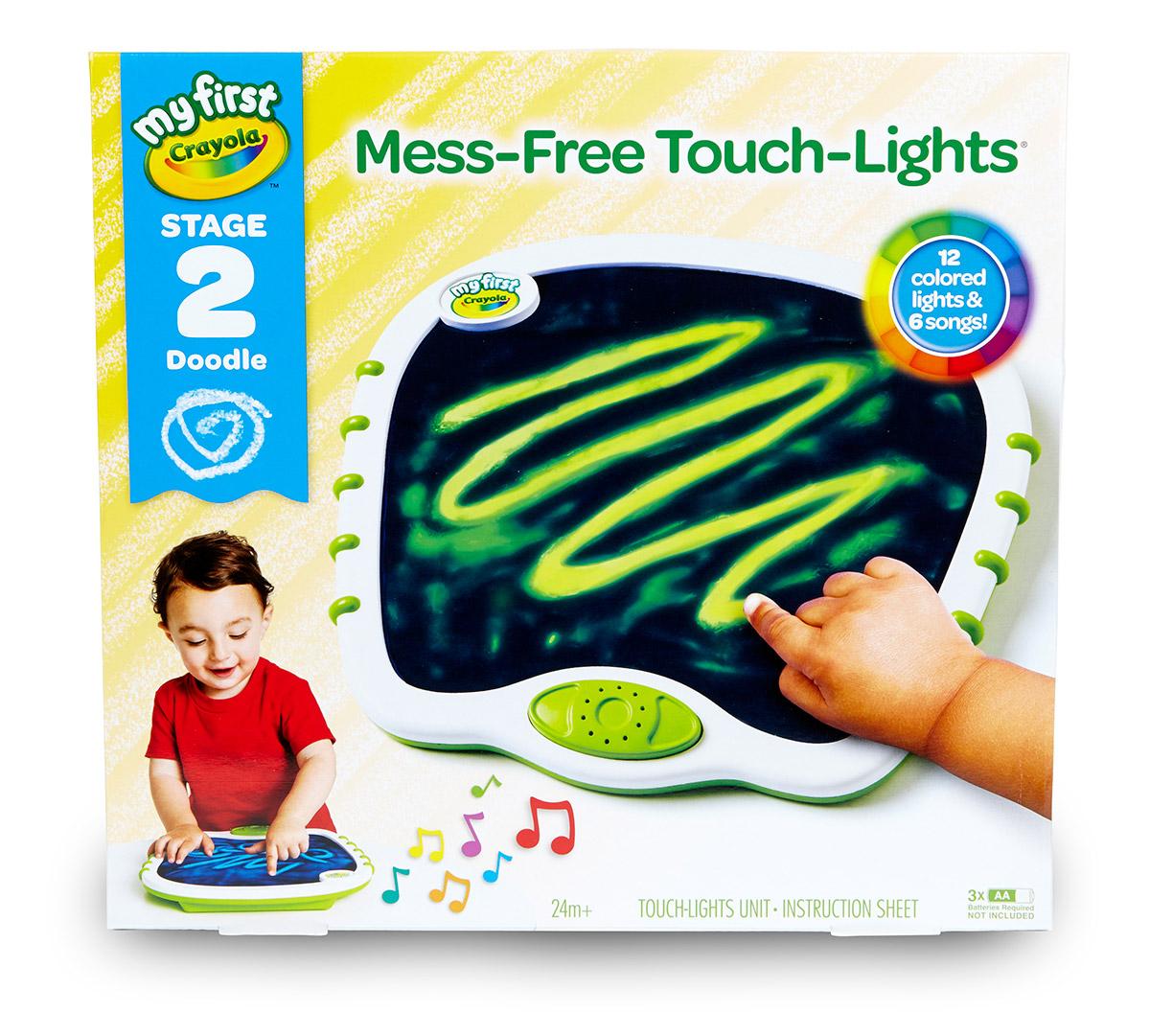 Crayola Touch Lights Musical Doodle Board Crayola Com