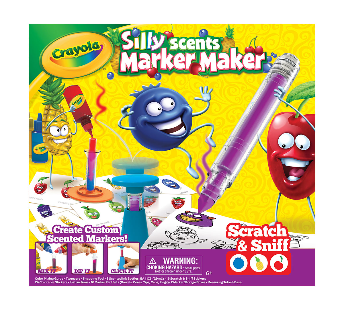 Crayola Silly Scents Marker Maker Creative Art Tool Make