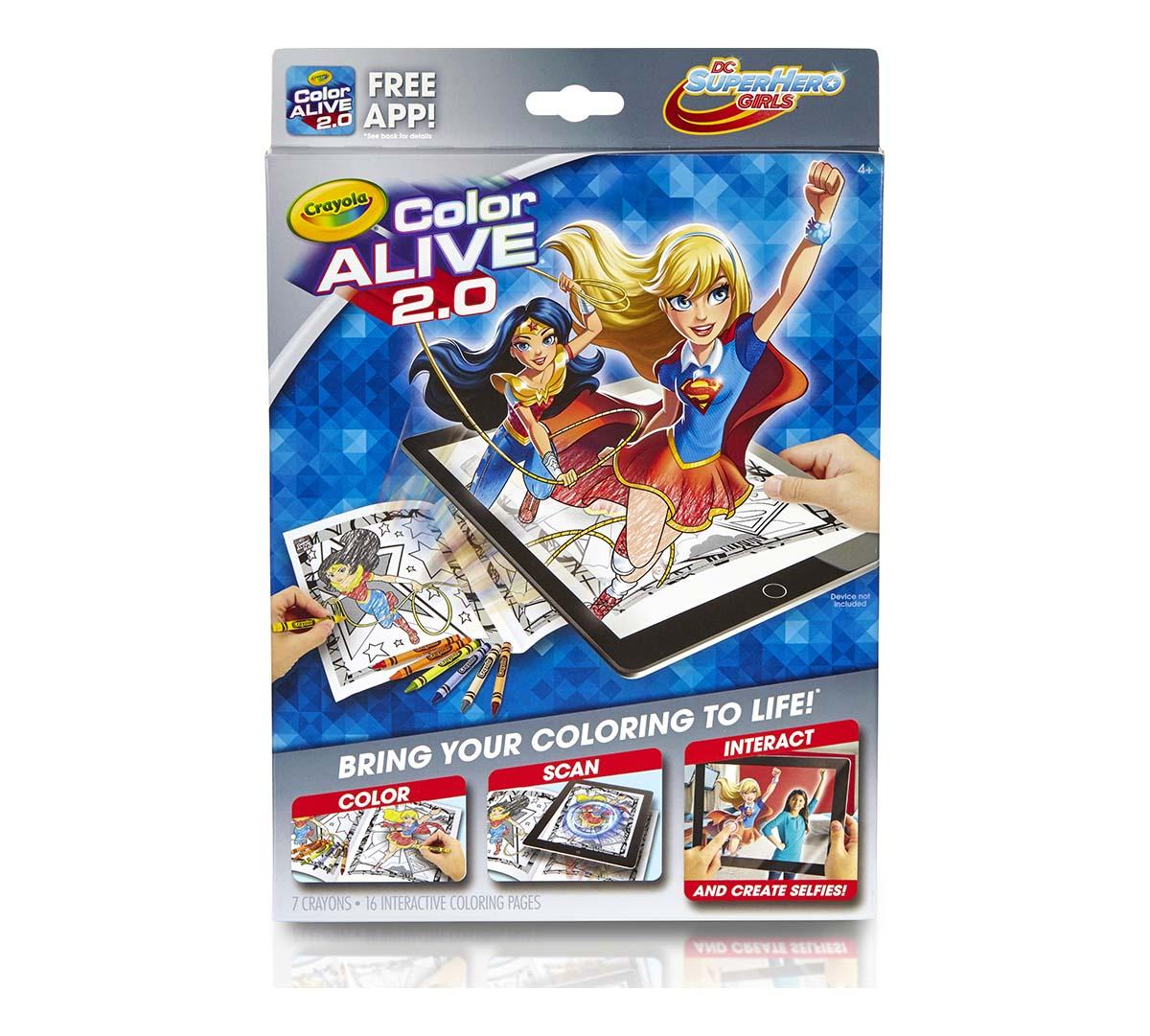 Color Alive 2.0, DC Super Hero Girls