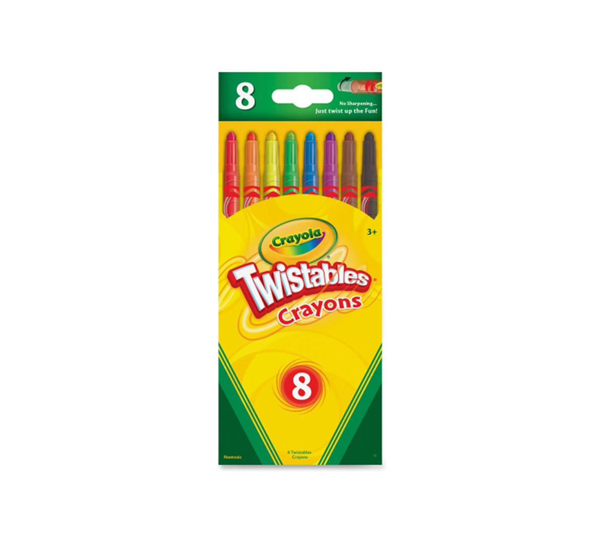 Crayola Twistables Crayons 8ct Coloring Gift For Kids