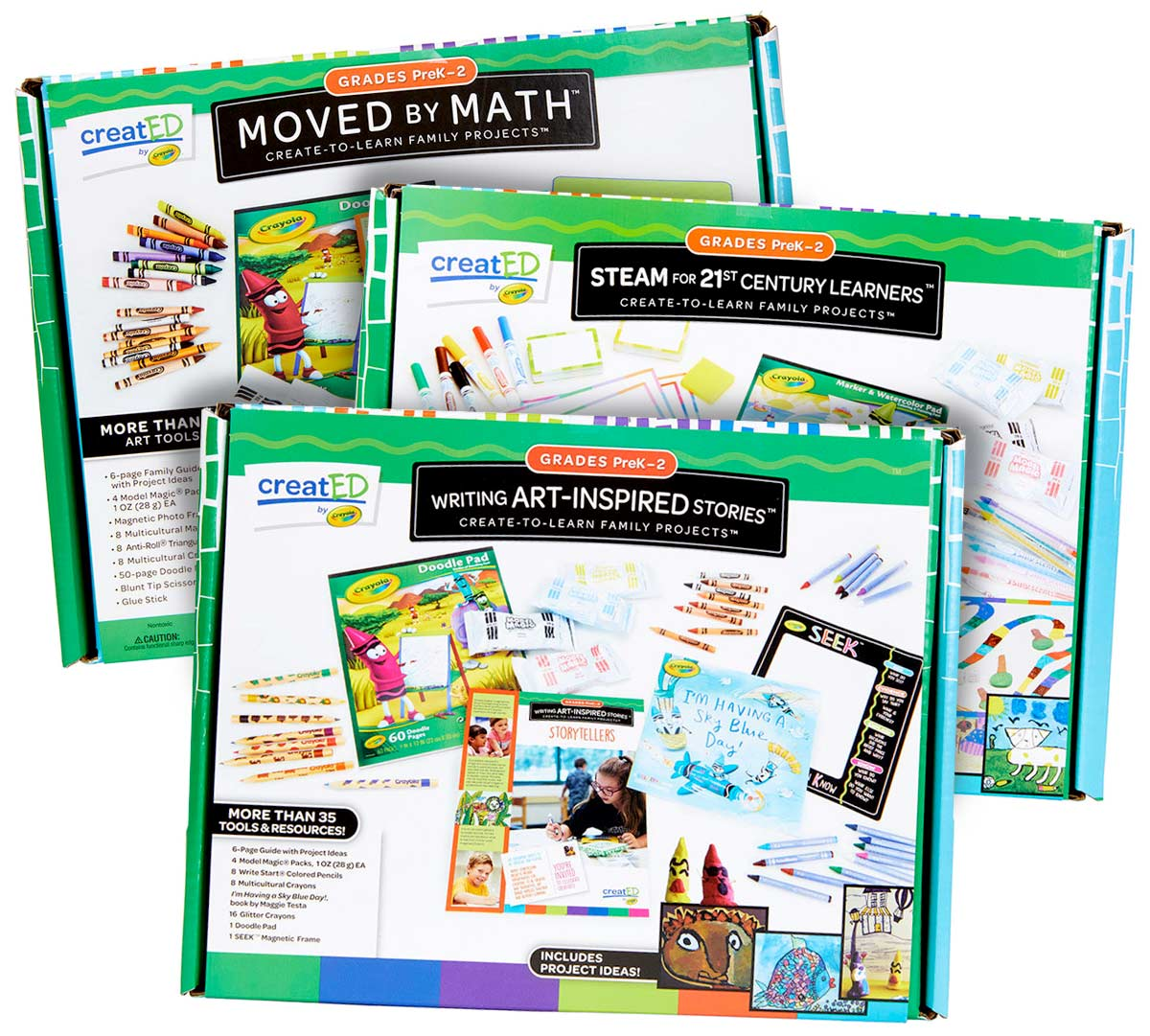 3 Create To Learn Activity Kits Grades Prek 2 Crayola Com Crayola