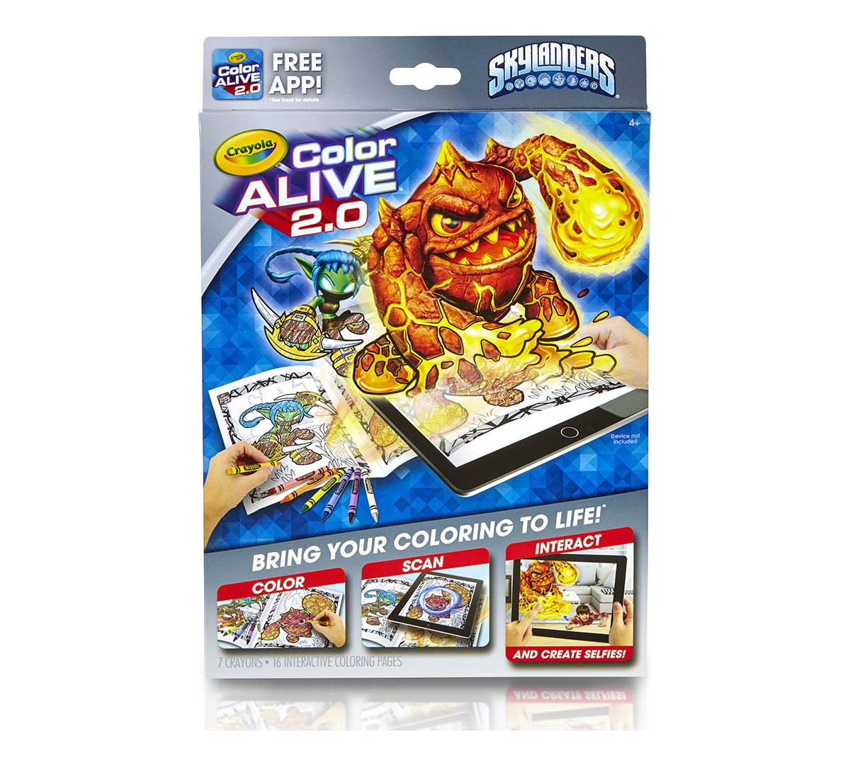 Color Alive 2.0, Skylanders