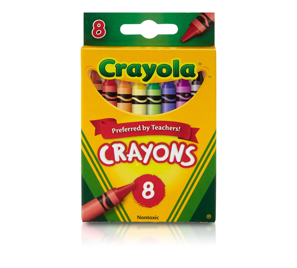 Crayons, 8 Count | Crayola