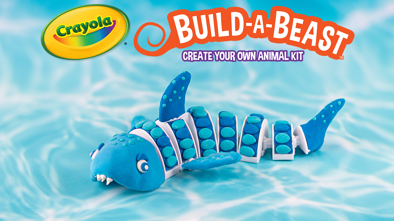 Build A Beast Shark Craft Kit Front View of Package