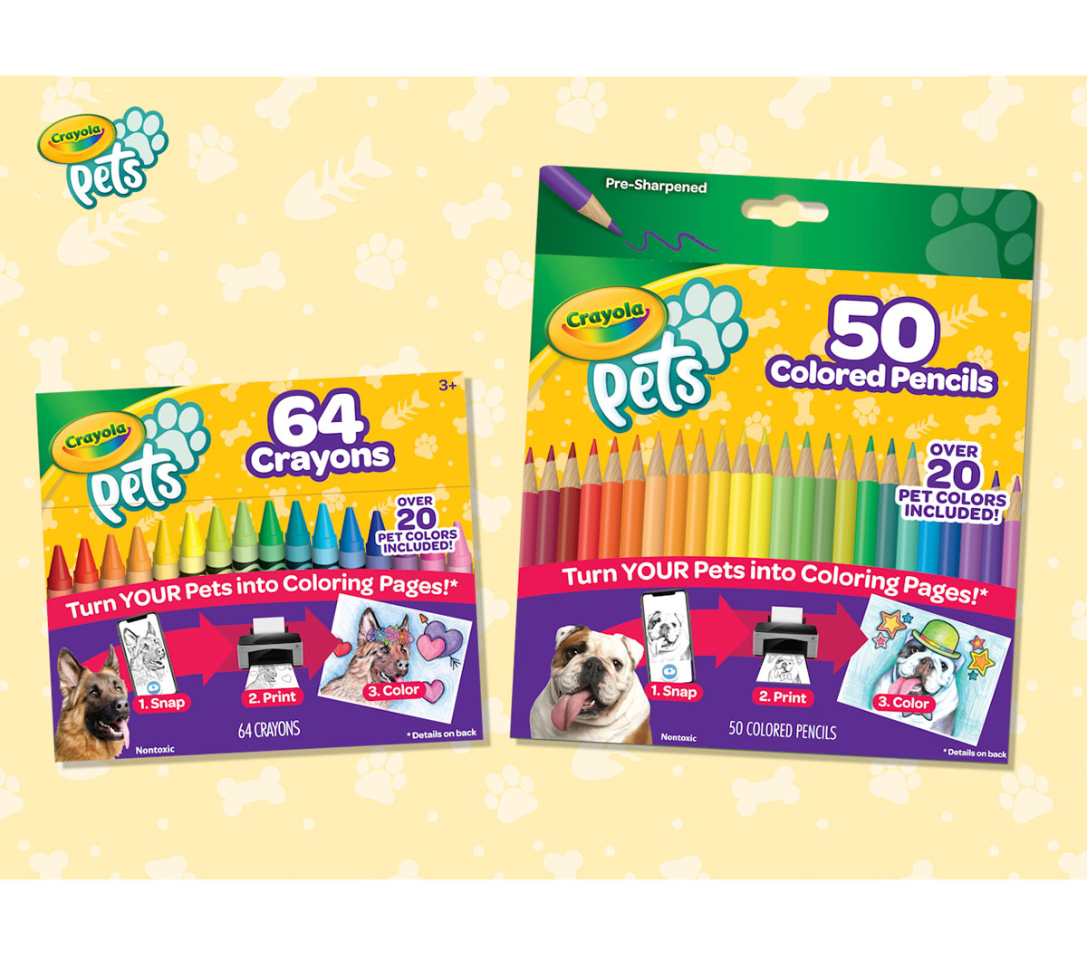50 Vibrant Colored Pencils with Smooth Lay Down