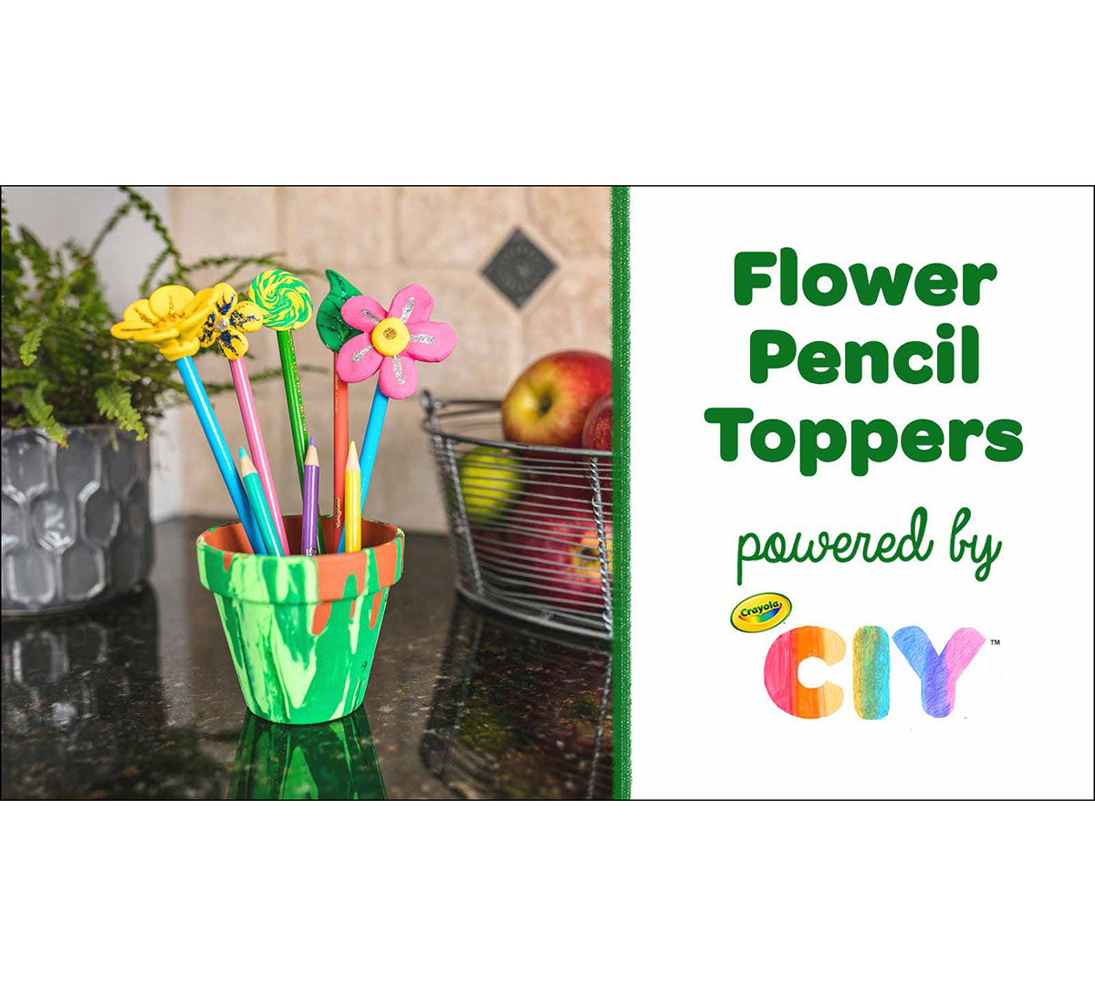 DIY Pencil Toppers Craft Party Kit