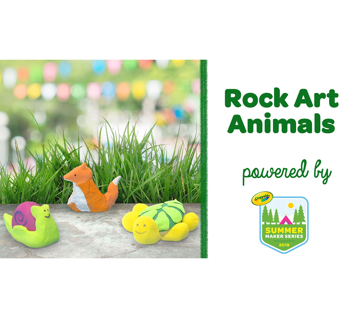 Rock Art Animals Craft Kit